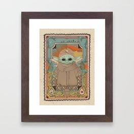 """The Child"" by Cassidy Rae Marietta Framed Art Print"