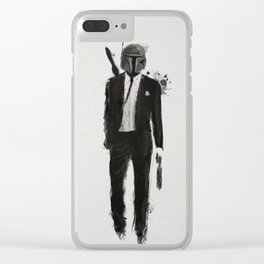 Boba fiction Clear iPhone Case