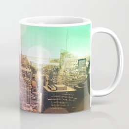 New York City Rainbow Bokeh Coffee Mug