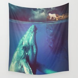 The Whale and the Wolf Wall Tapestry