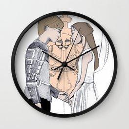 R+J Wall Clock