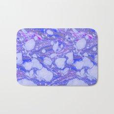 Violet Marbling Bath Mat