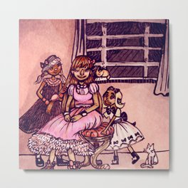 Lovely Lolitas Metal Print