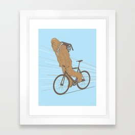 Chewbika Framed Art Print