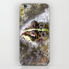 I'm Forever Blowing Bubbles Cute Frog iPhone Skin