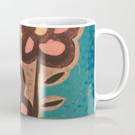 Bouquet Pink Flowers Coffee Mug
