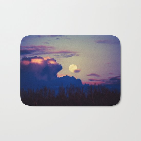The Rising Moon Bath Mat