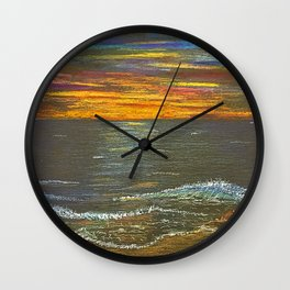 Sun Ripened Sand Wall Clock