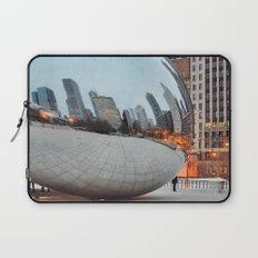 Chicago Bean - Big City Lights Laptop Sleeve