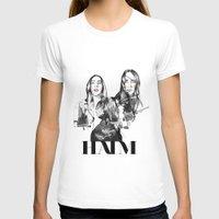 haim T-shirts featuring Haim the band by Mariam Tronchoni