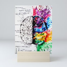 Conjoined Dichotomy Mini Art Print