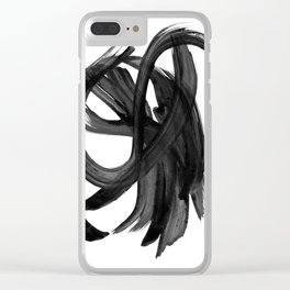 Whirligig Clear iPhone Case