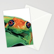 rana del madagascar Stationery Cards