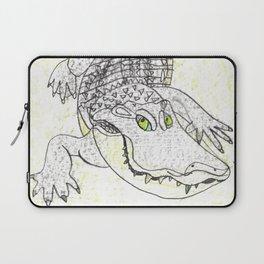 Smiling Gator Laptop Sleeve