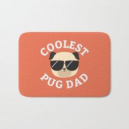 Coolest Pug Dad Bath Mat