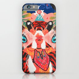 The Open Field Of Vision iPhone Case