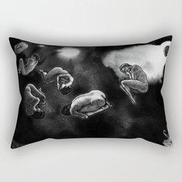 human asteroids Rectangular Pillow