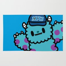 Monsters University Sulley Rug