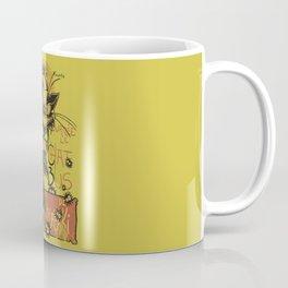Nekobus, le Chat Noir Coffee Mug