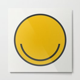 All you need is Smile! Metal Print