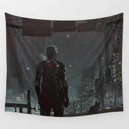After fall Wall Tapestry
