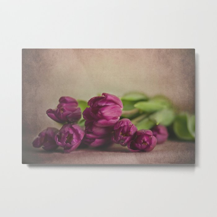 Pretty Purple Metal Print