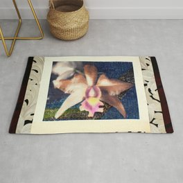 Not Your Usual Corsage Cattleya Rug