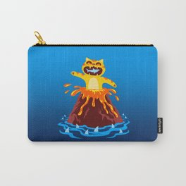 Volcano Cat Carry-All Pouch