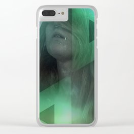 Prism Tombs I Clear iPhone Case