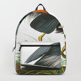 Great Blue Heron by John James Audubon Backpack