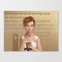 Romana Canvas Print