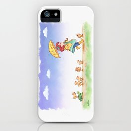 Duckling March iPhone Case