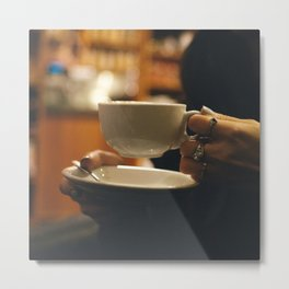 Expresso Yourself Metal Print