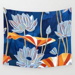 Bold Botanical Wall Tapestry