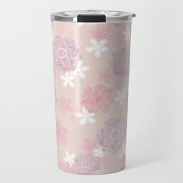 Spring Wind Flower Travel Mug