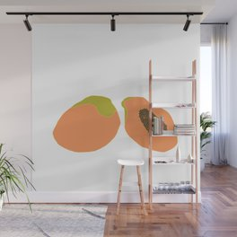 Papaya Wall Mural