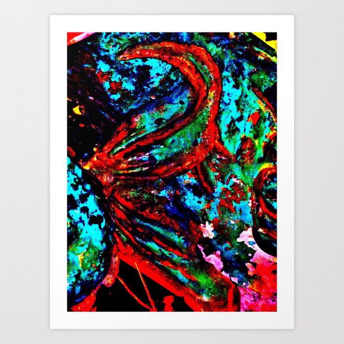 """""""Fish Tail"""" Art Print"""