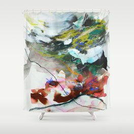 Day 84: In most cases reflecting on things in a cosmic context reveals triviality. Shower Curtain