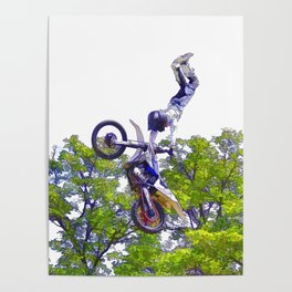 Hand Stand Pro - Freestyle Motocross Stunt Poster