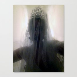 Ghost Bride_Dark Canvas Print