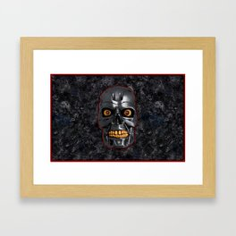 The Terminator: Metal Framed Art Print