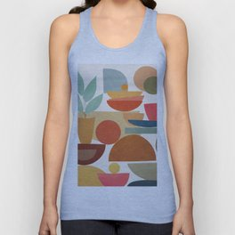 Modern Abstract Art 78 Unisex Tank Top