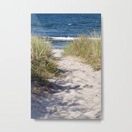 Sand Dune of Island Ruegen Metal Print