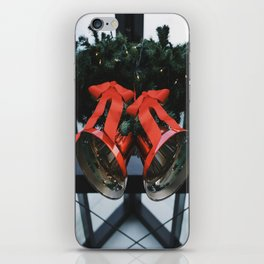 The Bells of Christmas iPhone Skin