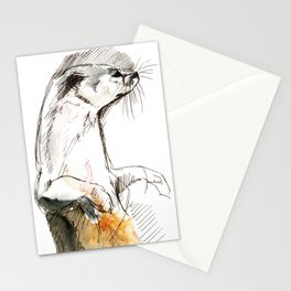 Totem Neotropical otter Stationery Cards