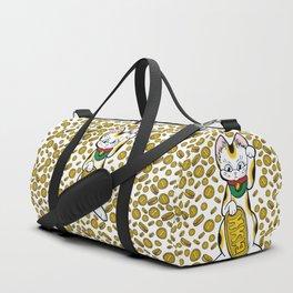 Cat & Coins Duffle Bag