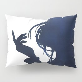 Sea breeze silhouette Pillow Sham