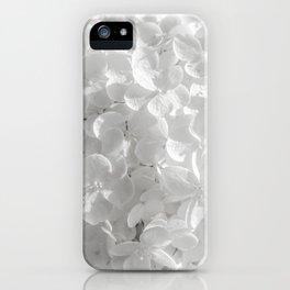 Holy Hydrangea V iPhone Case