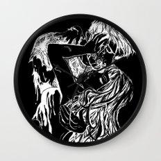 Necromantic 2.0 Wall Clock