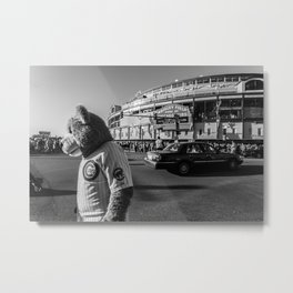 Chicago Cub | Wrigley Field | Metal Print